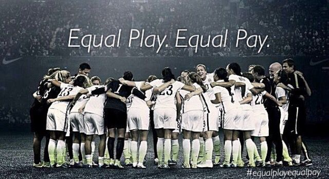 Props To Rapinoe For Fighting For The Uswnt S Right For Equal Pay Check Out Her Instagram Equalplayequalpa Women S Soccer Team Womens Soccer Usa Soccer Women
