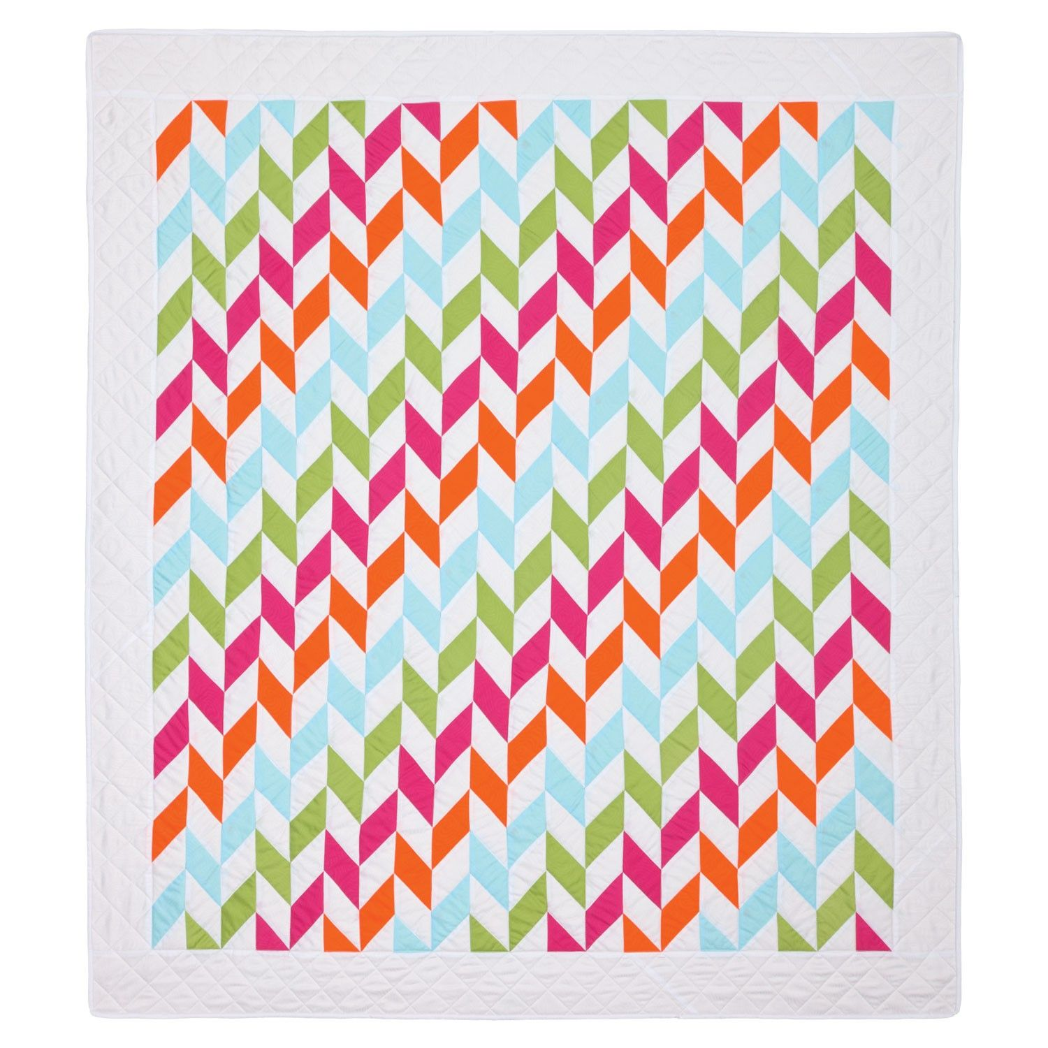 GO! Braided Beauty Quilt Pattern made with the parallelogram die ... : parallelogram quilt pattern - Adamdwight.com