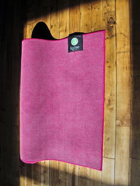 Kulae Elite Hot Hybrid towel-and-mat-in-one (because I'm a super sweaty human)