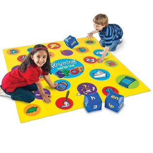 Rhyming Marks The Spot™ Floor Game   Games U0026 Puzzles   Product Type    Language