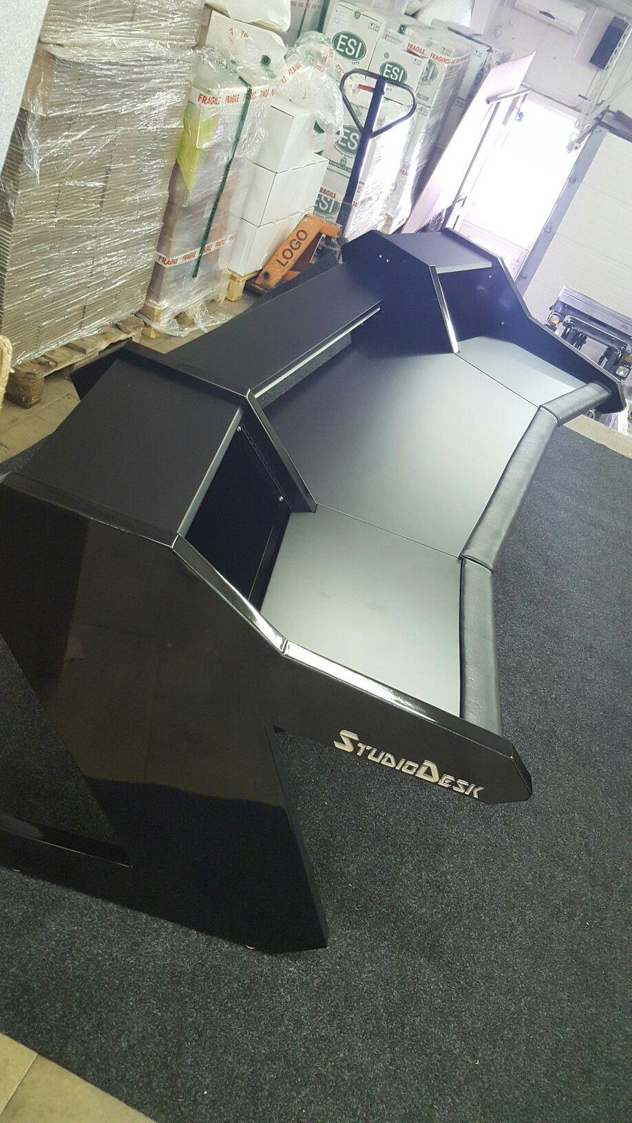PRO Line desk just assembled. | Home Recording | Pinterest | Desks ...