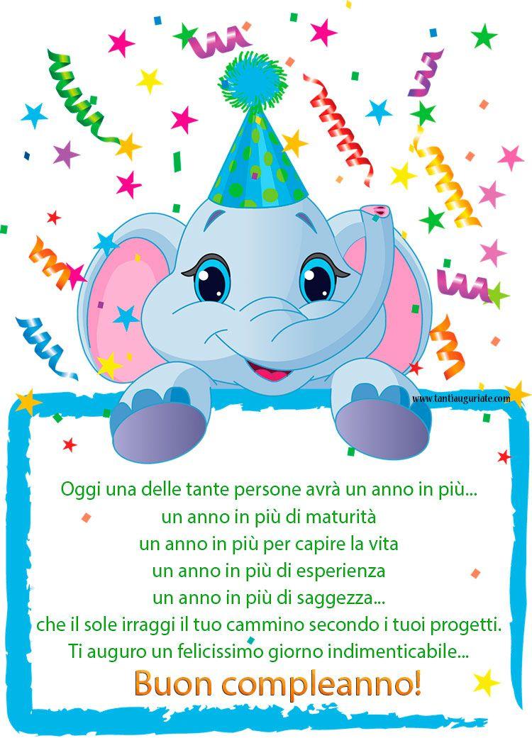 Ti auguro un felicissimo giorno indimenticabile Buon compleanno