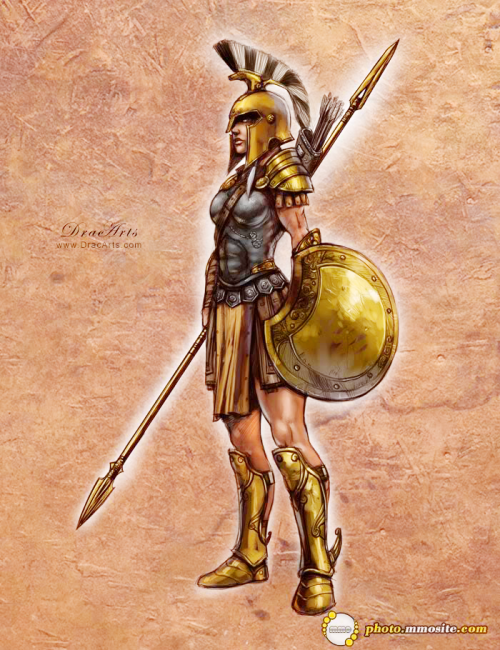 Greek Woman Warrior Fuck Yeah Women in Arm...