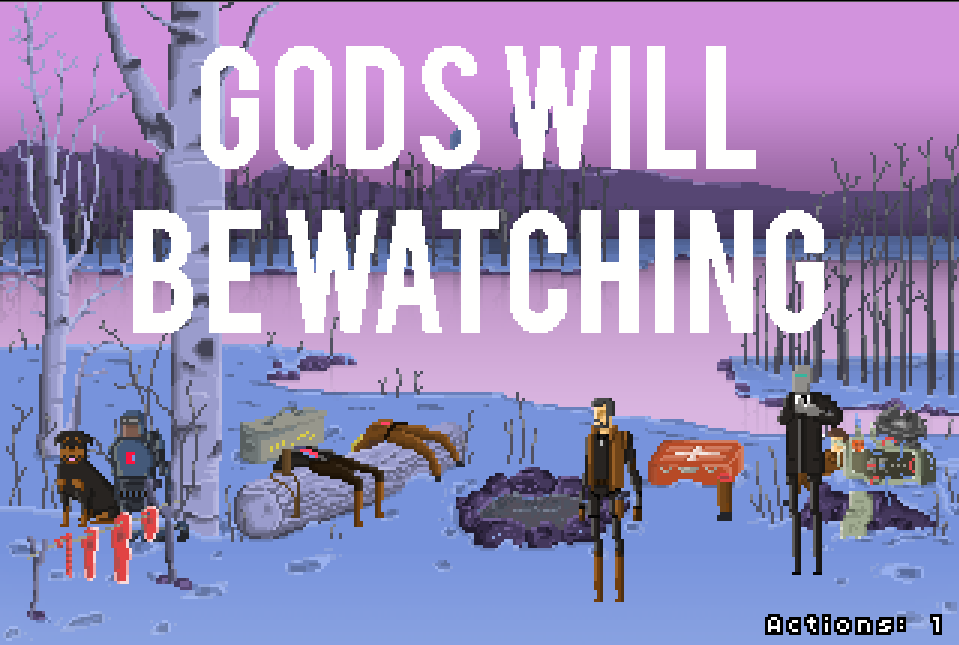 Gods Will Be Watching Pixel Art Games God Pixel Art