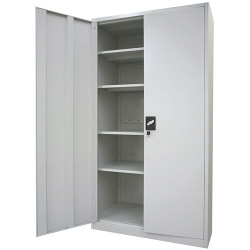 Steel Storage Cabinets With Doors Custom Built In Are Fashion Now They Look Great And Functional Cha