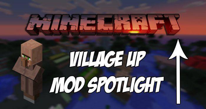 Village Up Mod For Minecraft 1 8 Minecraftsix Minecraft Mods Minecraft 1 Minecraft