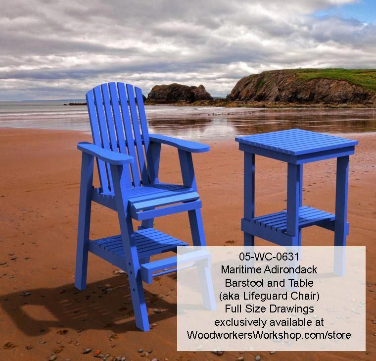 Maritime Bar Stool And Table Combo Full Size Woodworking