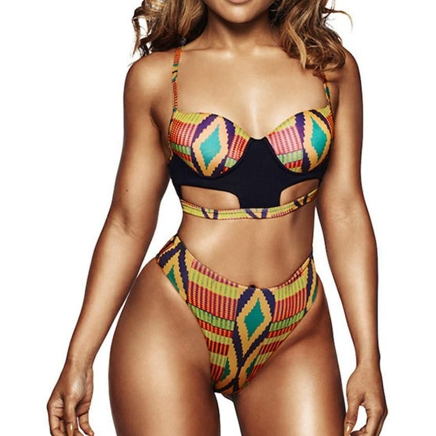 06be60f4a2f27 Item Type  Bikinis Set Gender  Women Waist  High Waist Support Type   Underwire Material  Spandex