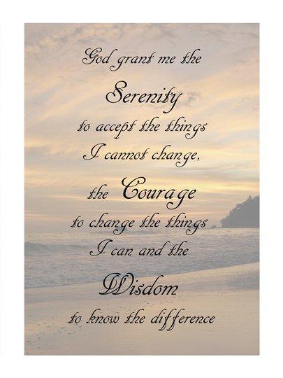Serenity Prayer Landscape Serenity Prayer Serenity Prayer Art Serenity Prayer Wallpaper