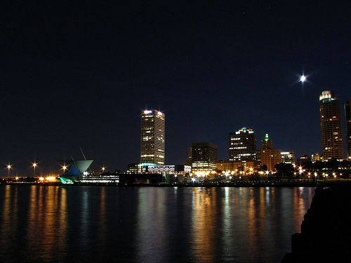 Walk to the lakefront after midnight. From 100 Things to Do Before You Graduate from Marquette. http://www.marquette.edu/magazine/recent.php?subaction=showfull&id=1286553305&archive=