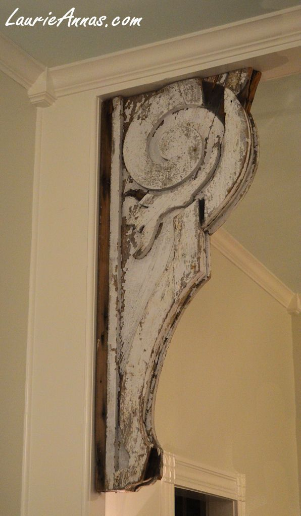 Wonderful Huge Architectural Salvage Corbel Perfect For