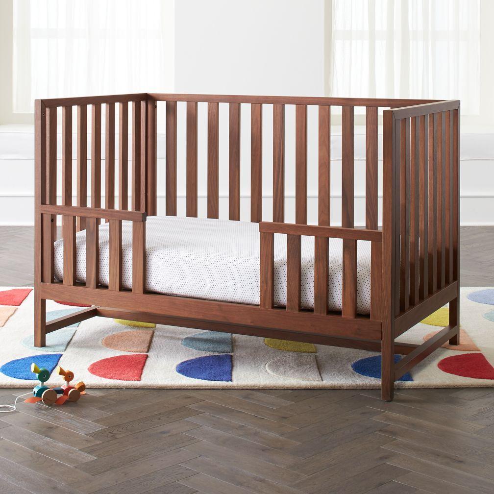 Best Taylor Walnut Toddler Rail Cribs Baby Cribs Nursery 400 x 300