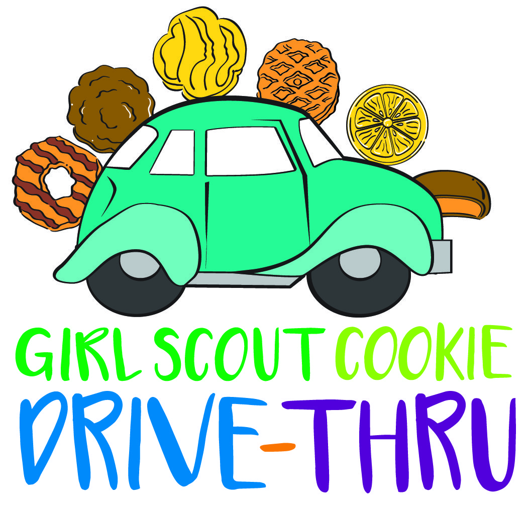 2018 girl scout cookie drive thru girl scouts pinterest rh pinterest com girl scout cookie clip art 2017 thank you girl scout cookie clipart 2015