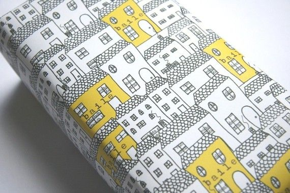 Love this wrapping paper.