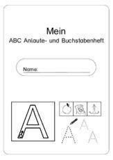 Abc Anlaute Und Buchstaben Deckblattpdf German Pinterest
