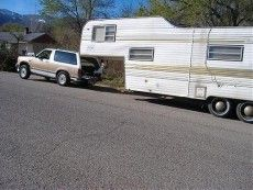 When Rv Diy Goes Too Far The Fifth Wheel Trailer Hitch Kindred