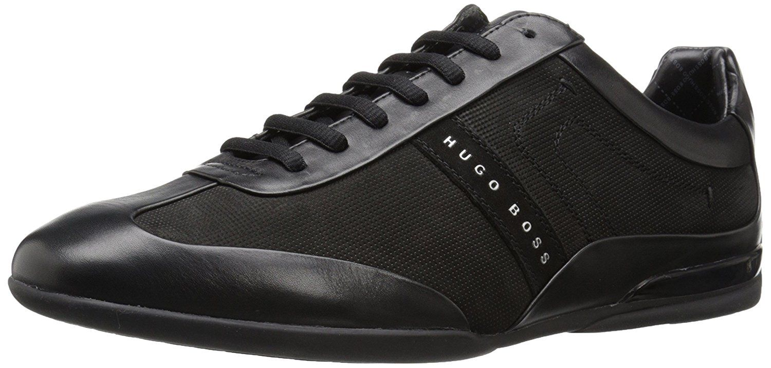 d71125737d4 Hugo Boss Trainers - Mens 632 Spacit Trainer in Black Review