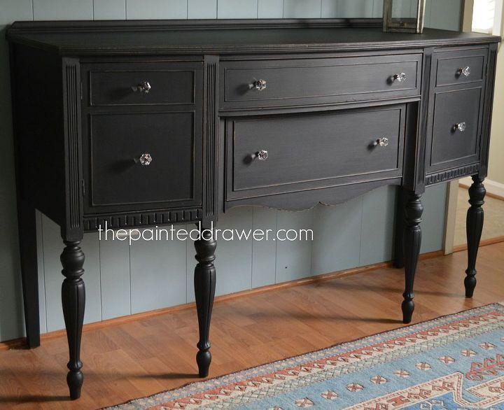 sideboard vintage redo midnight, furniture furniture revivals
