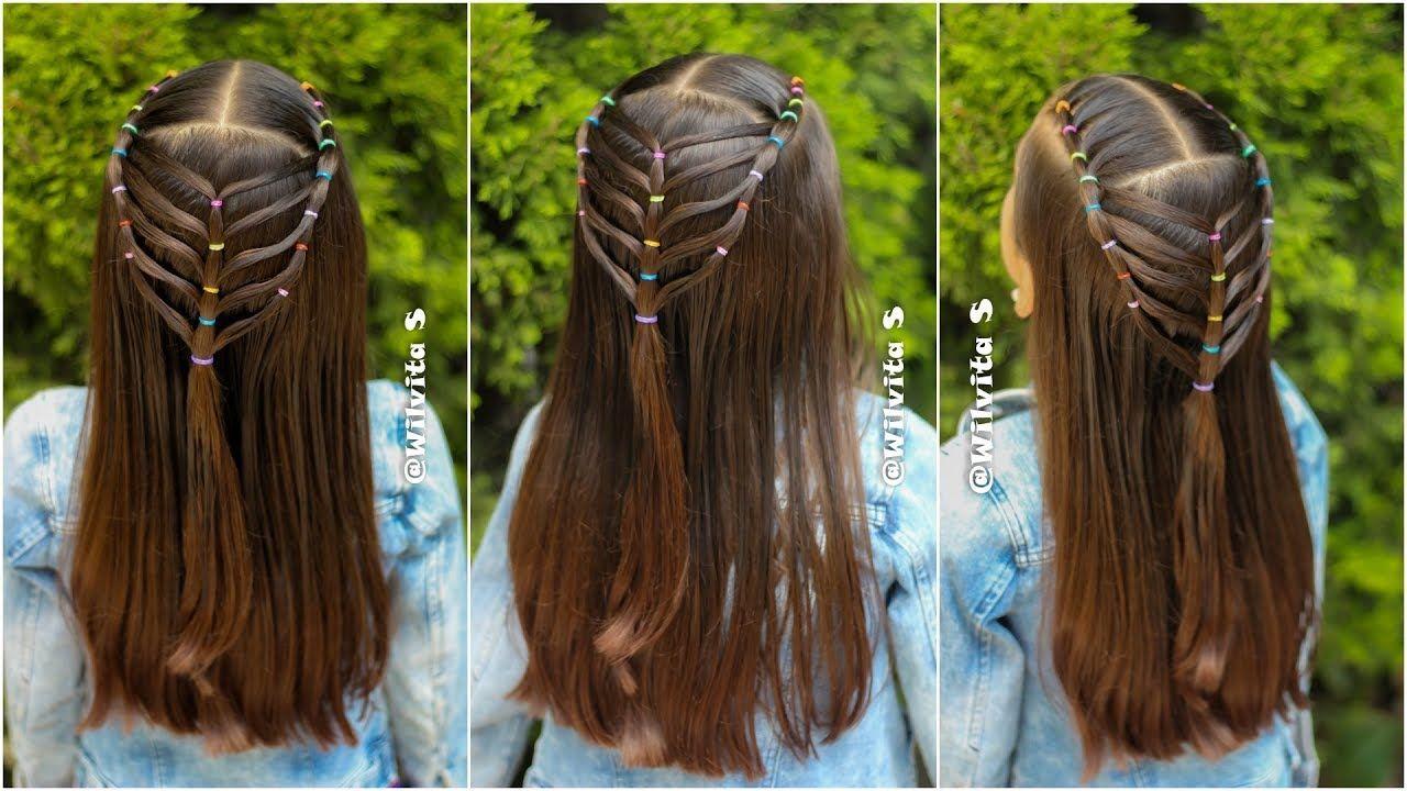 Peinado Para Niñas Con Ligas Para La Escuela Peinados Fáciles Wilvita Peinados Faciles Y Rapidos Peinados Faciles Peinados