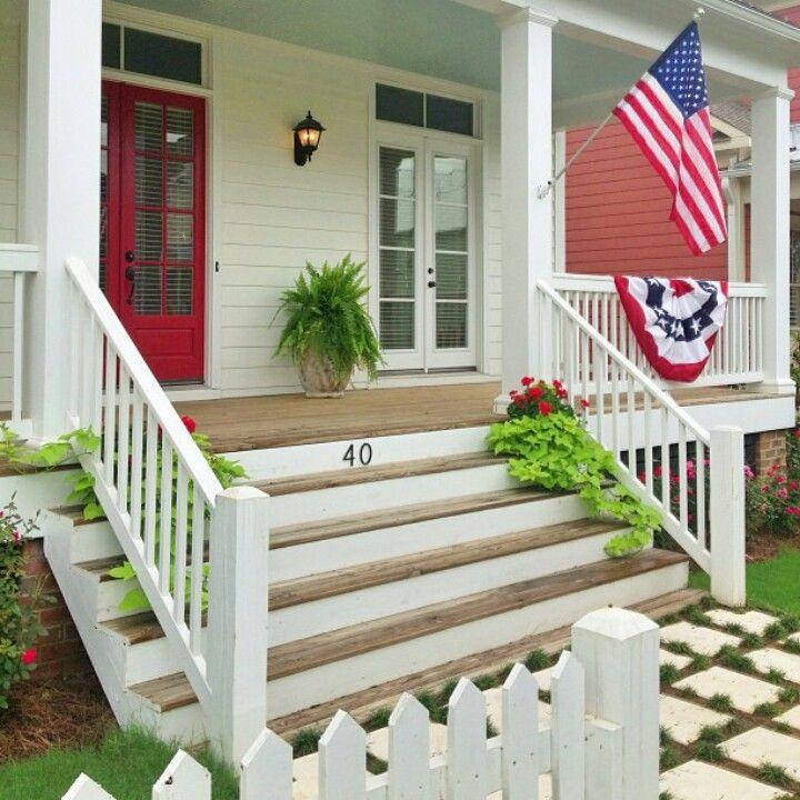 The Lettered Cottage Timeline Front Porch Steps Porch Design Farmhouse Front Porches