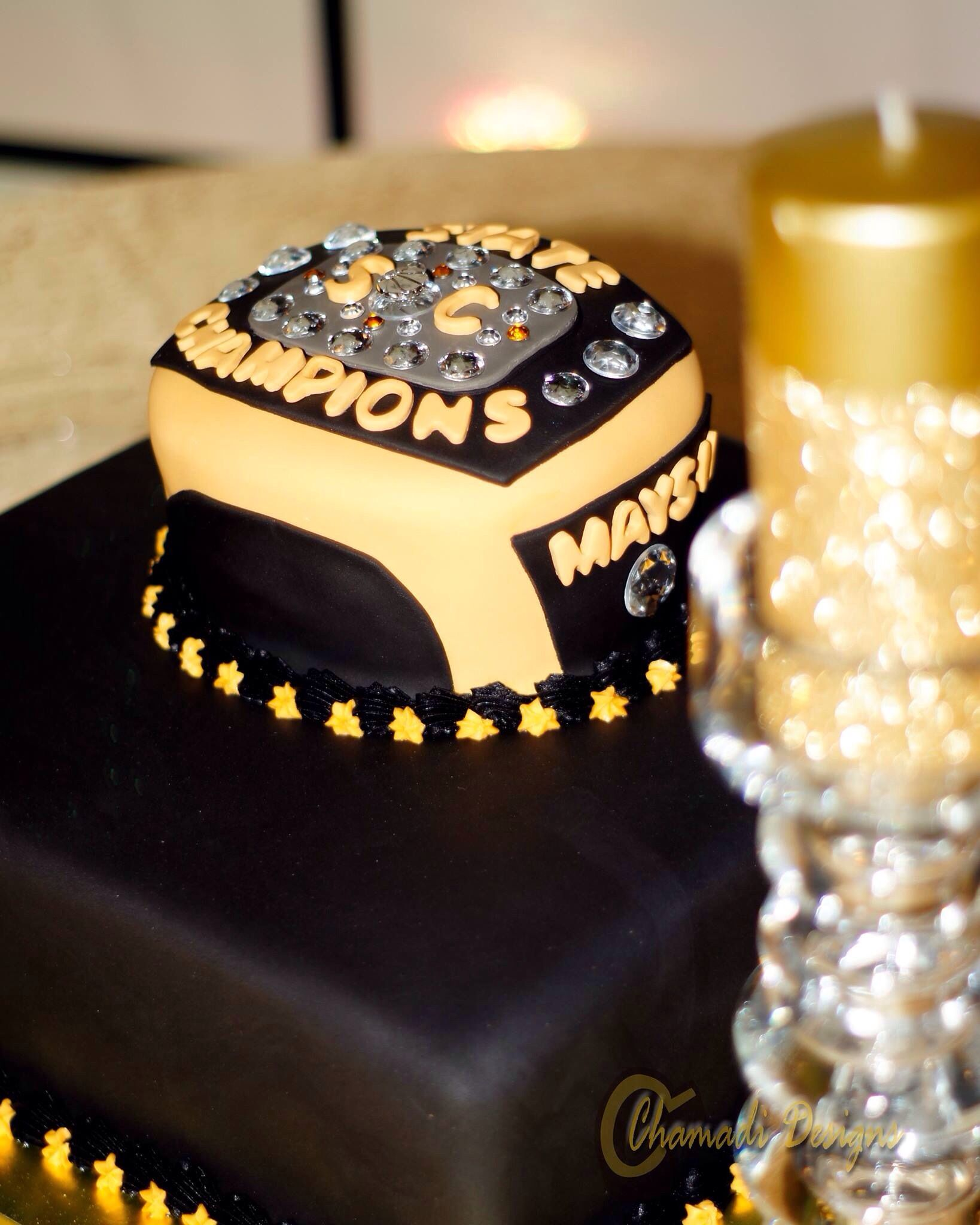 Custom championship ring grooms cake. | Wedding Cakes by Cake Daddy ...