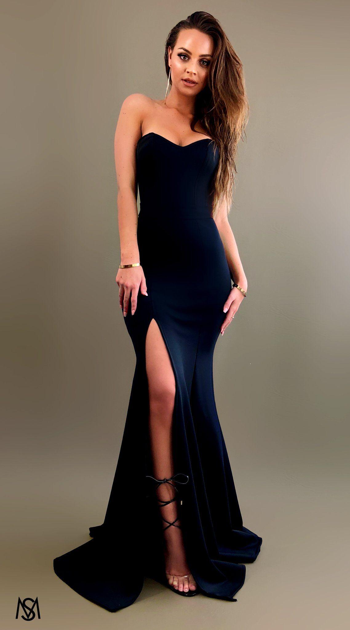 76c09b2160d Black III - Formal Prom Dress by STUDIO MINC
