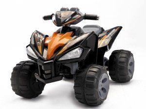 Quad Bambini ~ Kids quad atv wheeler ride on power motors v traction wheels