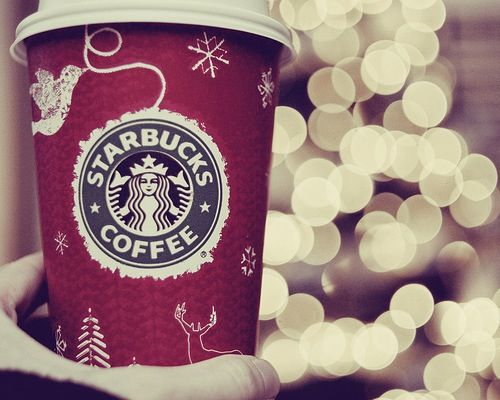 #christmas #winter #happy #time #reserved #starbucks