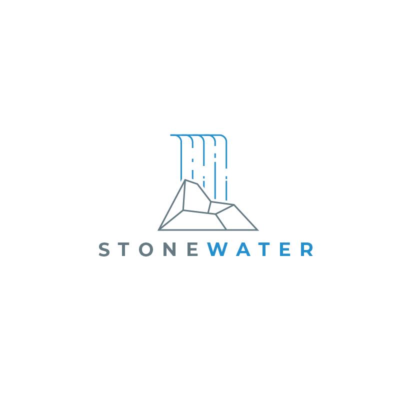 6abb21d1b Stonewater Insurance logo design by PeterZ (custom insurance logo designs,  insurance logo ideas, inspiration for insurance logos, custom logo design,  ...