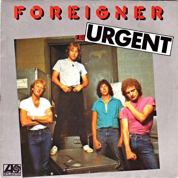 Foreigner – Urgent (single cover art)