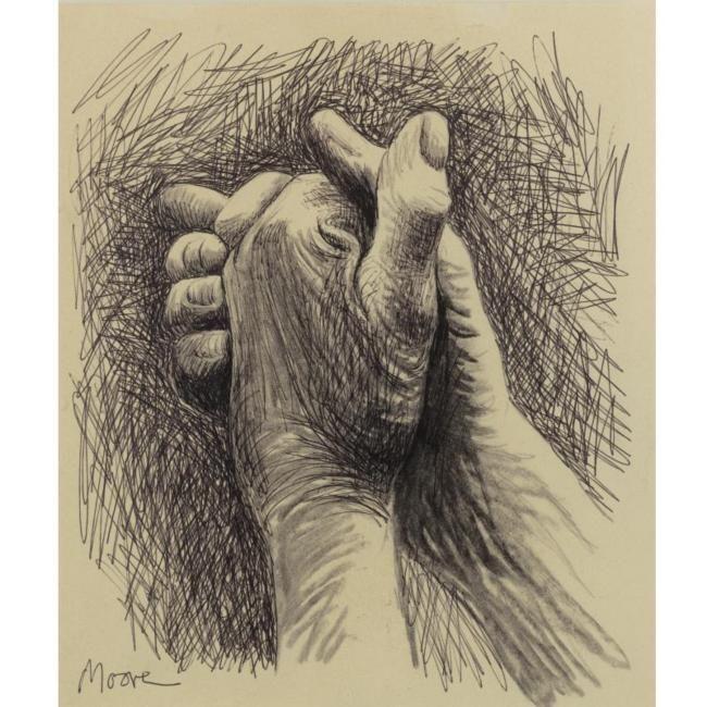 Henry Moore The Artist S Hands Art Pinterest Henry Moore