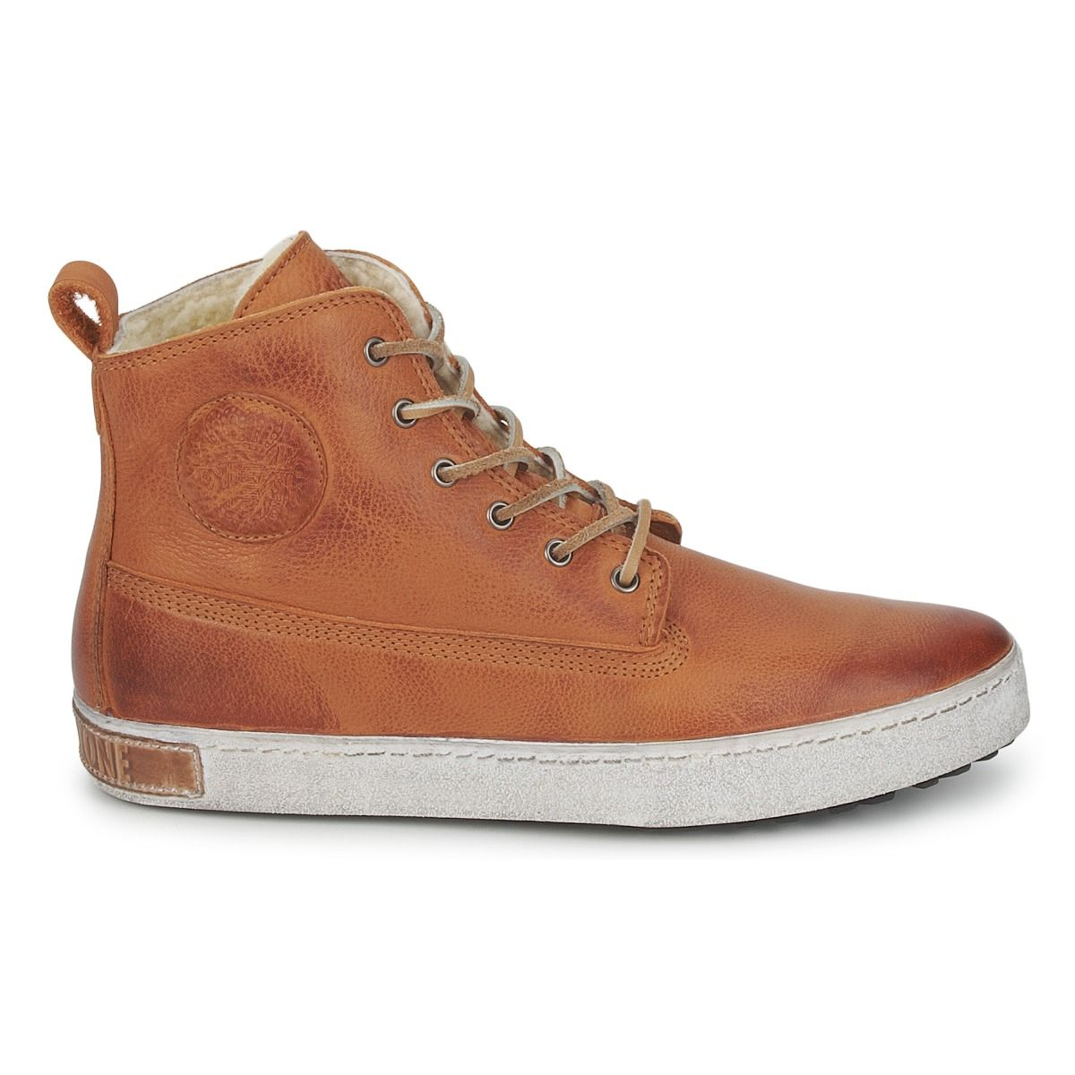 Découvrez les chaussures casual Worker homme en marron