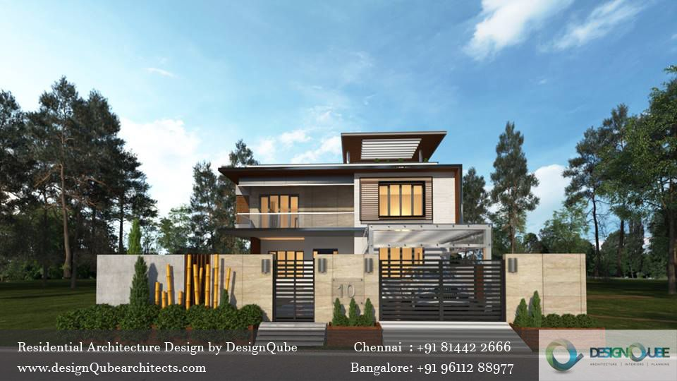 Residential Architecture Design By Designqube Architects Check