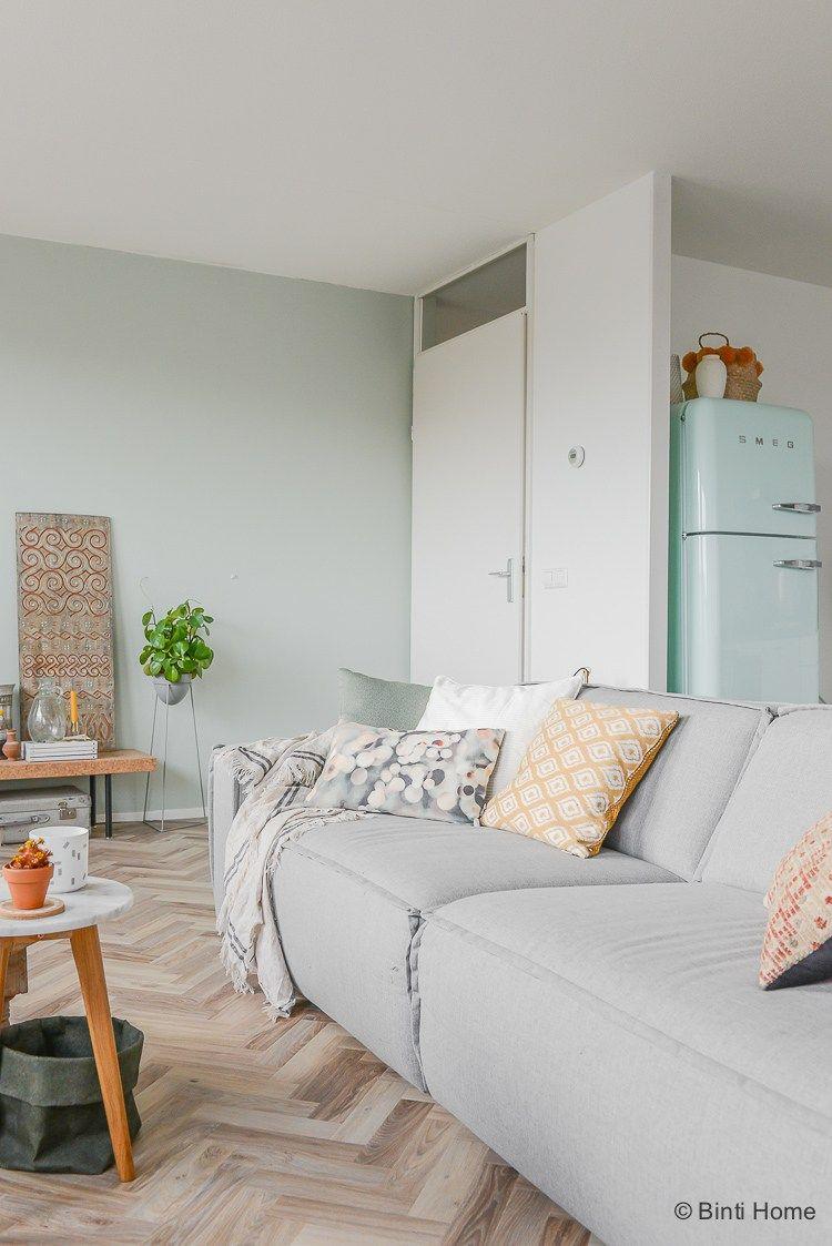 Welke kleur groen op muur voor onze woonkamer metamorfose? | Living ...