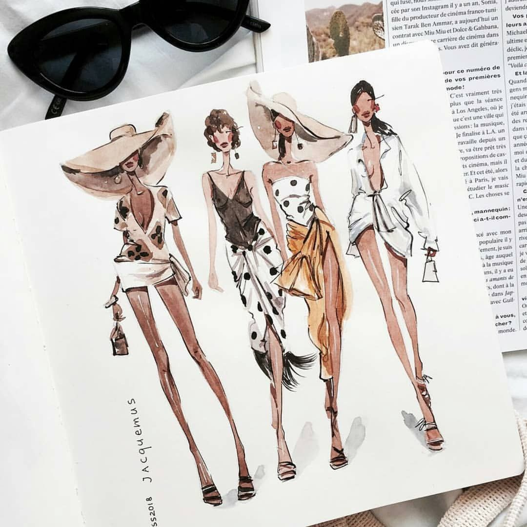 Brooklyn Hill On Instagram Marina Sidneva Marina Sidneva Amarin In 2020 Illustration Fashion Design Fashion Illustration Sketches Fashion Design Sketches