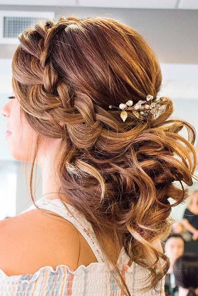 60 Sophisticated Prom Hair Updos | Prom | Wedding hair ...