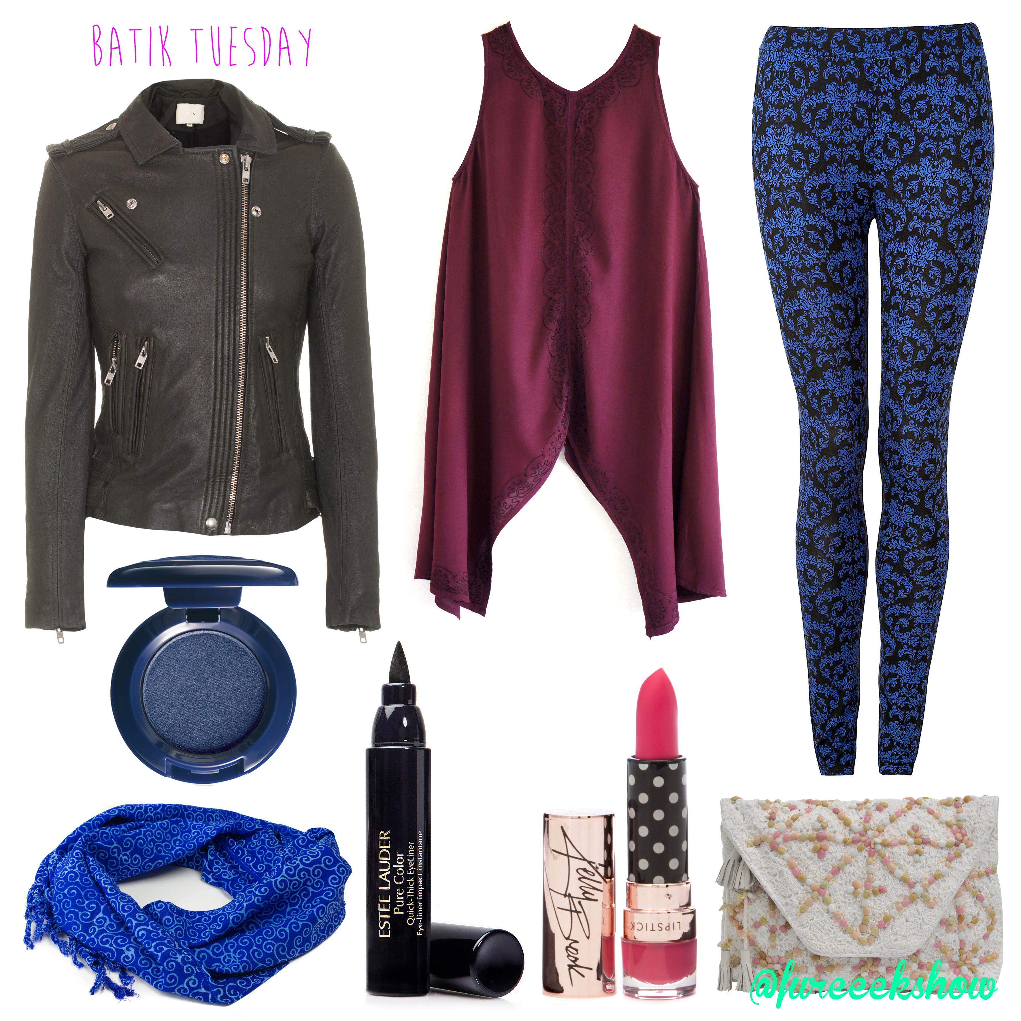 A modern twist on Batik!  #fureeekshow #fashion #batik  *Image credit: Google*