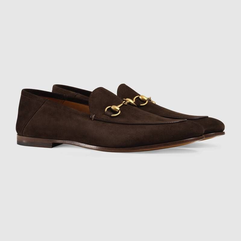 98fbb7182ee  590 GUCCI Suede Horsebit loafer SOLD by Gucci Our successful new loafer is  now offered in