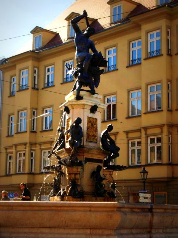 Do You Know The Story Of This Special Fountain In Augsburg Eattheworld Foodtour Culture Food Augsburg Altstadt Augsburg Stadt
