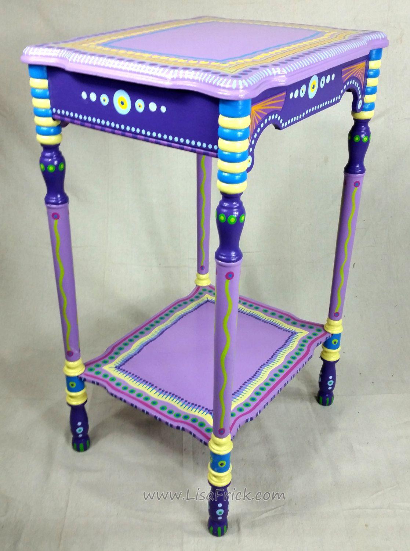 Leuke Side Table.Sold Sample Of Custom Work Vintage Side Table Custom Hand