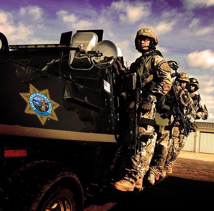 California highway patrol swat team california highway