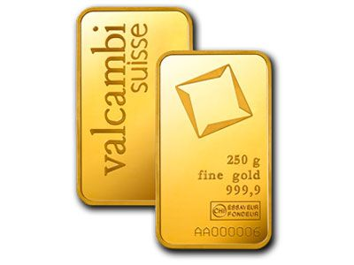 Valcambi 250 Gram Gold Bar Gold Bullion Bars Buy Gold And Silver Buying Gold