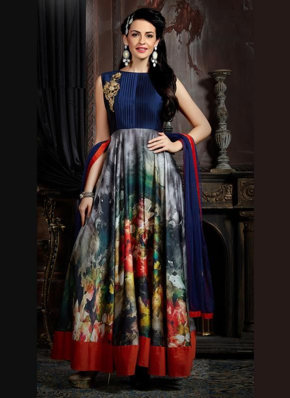 Designer Indian Evening Gown In Us Uk Canada Fiji Gown Gowns