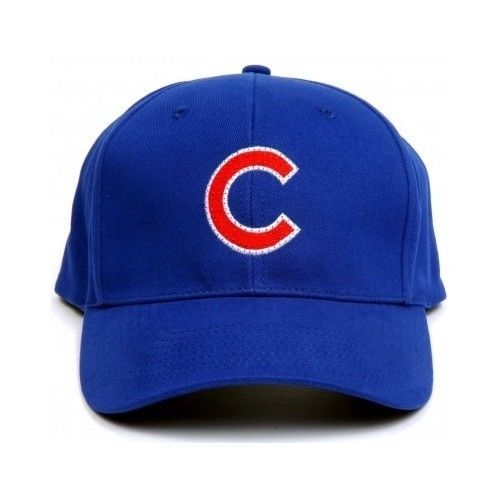 22a89326b5d MLB Chicago Cubs LED Light Up Flashing Logo Adjustable Hat Baseball Cap NEW   ChicagoCubs