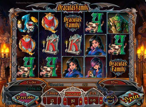 dracula описание игрового автомата