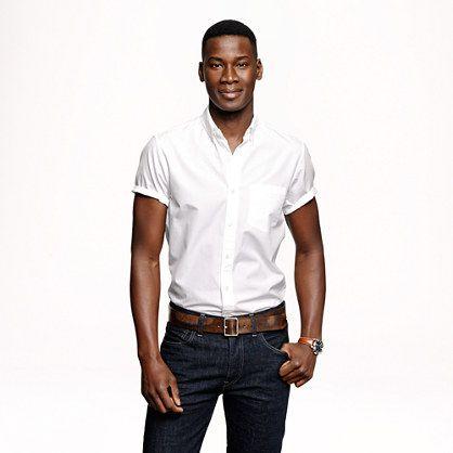 Secret Wash short-sleeve shirt in white - short-sleeve shirts ...