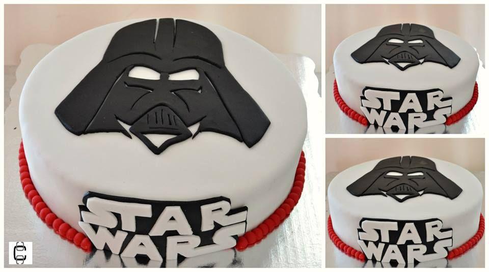 Star Wars Themed Party Ideas Star Wars Fondant Cake Darth