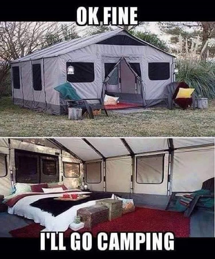 Funny Pictures Of The Day 36 Pics Camping Memes Funny Pictures Lol