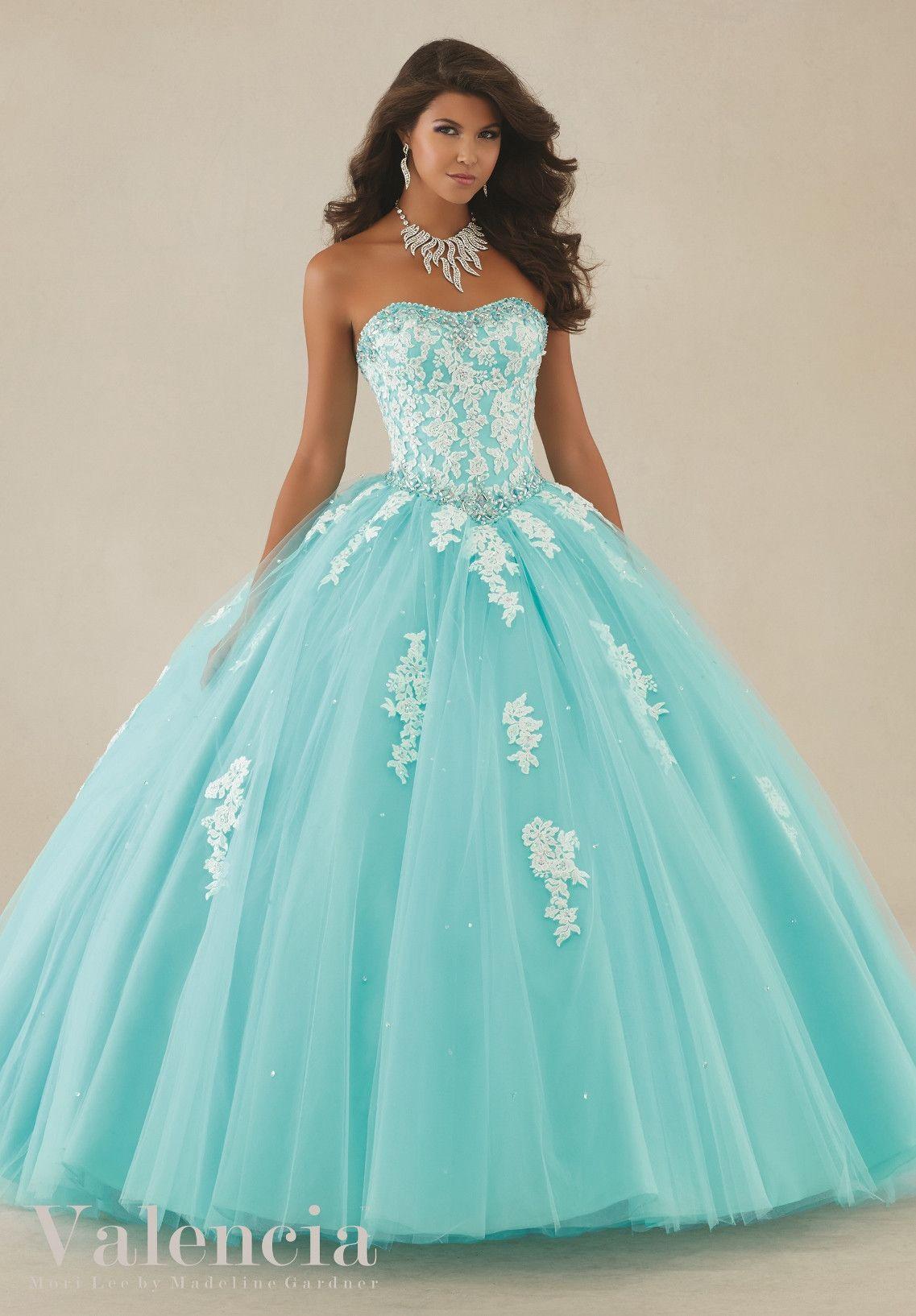 Mori Lee Valencia Quinceanera Dress 89086 | Quinceañera, Vestidos de ...
