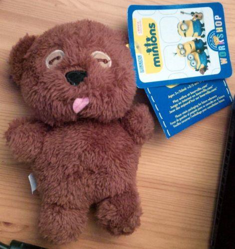 build a bear minions teddy bear 2015 minions bob's teddy